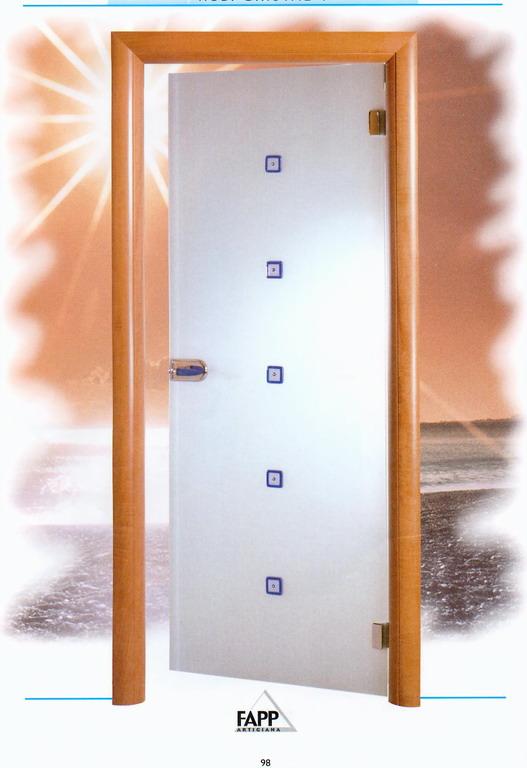 Telaio tondo mostre ad incasso guarnizione di battuta - Porte da interni ...